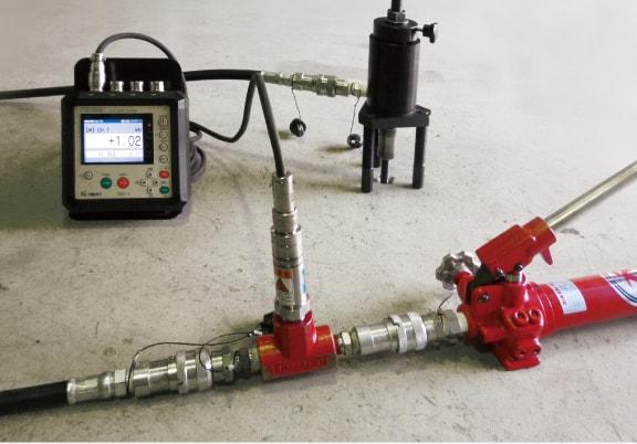 アンカー引張試験4ch同時表示器 DG-1 非破壊荷重試験