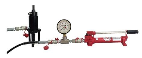 アンカー引張強度試験機 プロテスターTI シリーズ最小の油圧式試験機