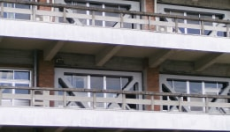 建築耐震補強工事 内付け/外付け鉄骨ブレース補強