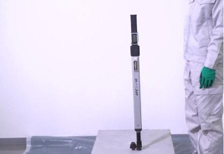 アンカー引張強度試験機 アンカープロチェッカー(APC) 10 反動をつけず静かに元の位置まで検査機を戻し、APC本体を外します。