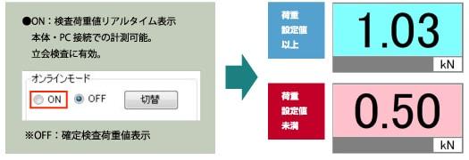 アンカー引張強度試験機 アンカープロチェッカー(APC)[3-3オンラインモード切替]