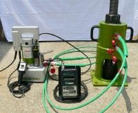 アンカー引張強度試験機 プロテスターTI 最大荷重値1500kNまでの計測範囲を実現。