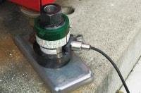 アンカー引張強度試験機 プロテスターTR 機械などを撤去せずに測定可能!