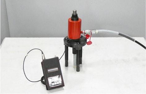 アンカー引張強度試験機 プロテスターTR デジタル表示器装着
