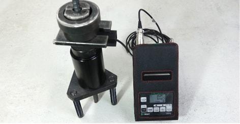 アンカー引張強度試験機 プロテスターTR 異形鉄筋も測定
