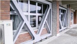 あと施工アンカーのトラスト 施工実績 耐震補強工事(建築耐震)