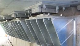 橋梁耐震補強工事 施工実績 変位制限工