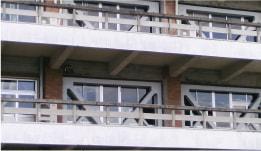 建築耐震補強工事 施工実績 内付け/外付け 鉄骨ブレース補強工