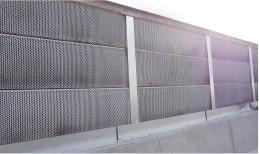 交通安全施設工事 施工実績 遮音壁設置工