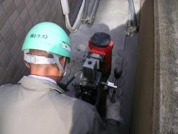各種コンクリート切断工事 保育所増設工事 コアボーリングにてラインカット