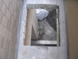 各種コンクリート切断工事 保育所増設工事 開口部完了