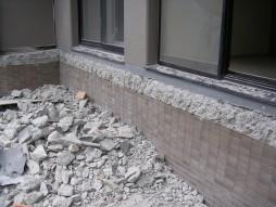 各種コンクリート切断工事 保育所増設工事 解体完了