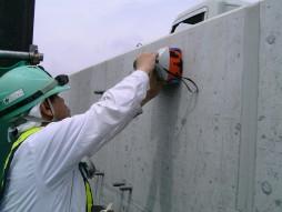 あと施工アンカー工事 交通安全施設工事 自動車道 高架橋環境対策工事 鉄筋探査