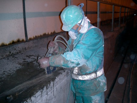 交通安全施設工事 トンネル内装改良工事