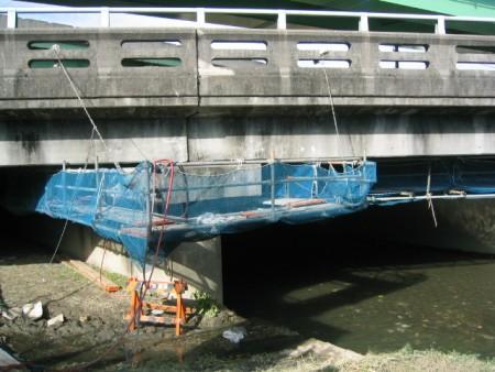 各種コンクリート切断工事 耐震補強工事(土木インフラ)  橋梁耐震補強工事