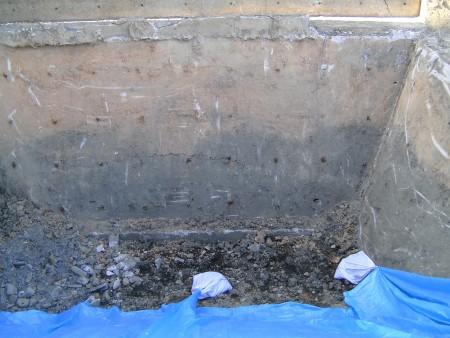 各種コンクリート切断工事  マンション新築工事