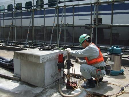 コンクリート補修工事 各種コンクリート切断工事 保線所管内高架橋修繕その他工事