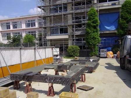 耐震補強工事(建築耐震) 小学校の地震補強工事