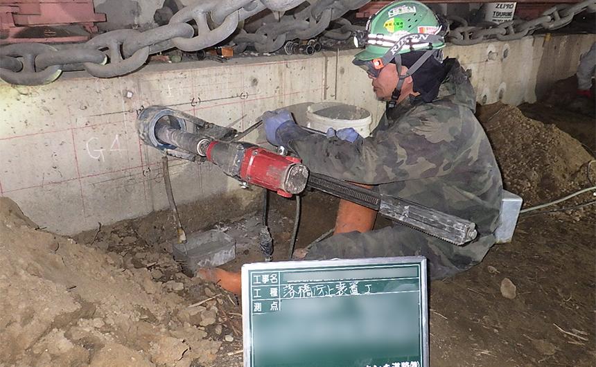 耐震補強工事(土木インフラ) 主要地方道美原太子線板屋橋外耐震補強工事