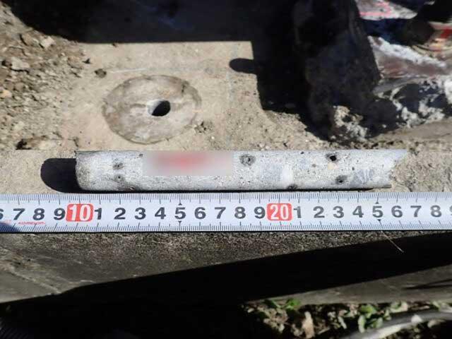 各種コンクリート切断工事 各種点検・診断 コンクリート圧縮強度試験 ソフトコアリング
