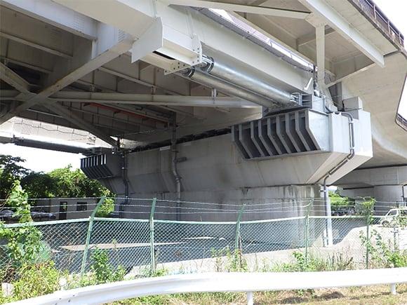 耐震補強工事(土木インフラ) 平成記念橋 橋りょう耐震補強・補修工事